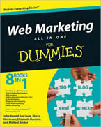 Web Marketing All-in-One for Dummies book picture Wiley 2009